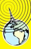 Radio Signal Royalty Free Stock Photo