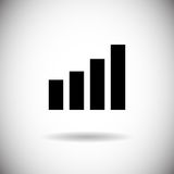 Radio Signal Antenna Web Icon Stock Image