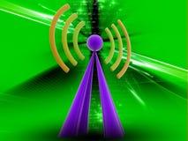 Radio signal Stock Image