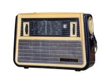 Radio som är retro Royaltyfria Foton