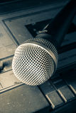 Radio sound equipment and microphone Stock Images