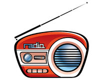 Radio spreker Royalty-vrije Stock Afbeelding