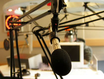 Radio station Royalty Free Stock Photos