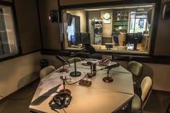 Radio station Stock Images