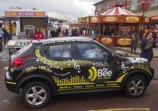 Radio station car Royalty Free Stock Image