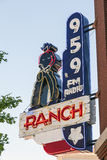 Radio Station in Fort Worth, Texas, USA. FORT WORTH, USA - APR 6: The Ranch - Country Music Radio Station in Fort Worth. April 6, 2016 in Fort Worth, Texas, USA royalty free stock image