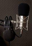 Radio studio Royalty Free Stock Photography
