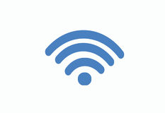 Radio Sygnałowa ikona Zdjęcia Royalty Free
