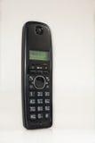Radio telephone handset. Tube radio phone on a table on a white background Royalty Free Stock Photo