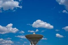 Radio telescoop Royalty-vrije Stock Afbeeldingen