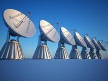 Radio telescope royalty free illustration