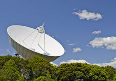 Radio telescope. A form of directional radio antenna used in radio astronomy Stock Image