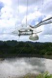 Radio Telescope. At arecibo observatory in puerto rico royalty free stock photos
