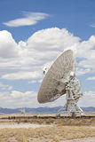 Radio Telescope. Very Large Array, New Mexico Stock Photo