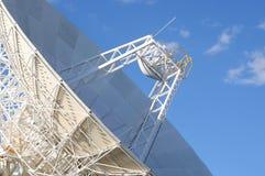 Radio Telescope. Close-up of radio telescope dish and antenna Royalty Free Stock Images