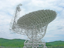 Radio telescope. Located in West Virginia, USA stock image