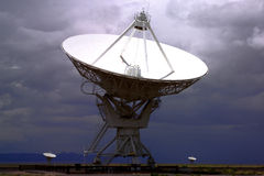 HIGH TECH ELECTRONIC RADIO TELESCOPE BACKGROUND Stock Photos