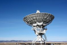 Radio Telescope Antennae - Plains of San Agustin, NM, USA Stock Photography