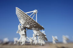 Radio Telescope Dish Stock Photo