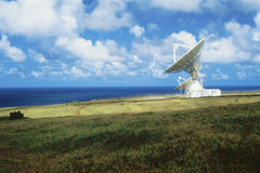 Radio telescope dish Stock Photography