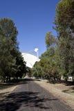 Radio Telescope Dish in Parkes, Australia Stock Image