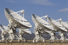 Radio Telescope Dishes Royalty Free Stock Photography
