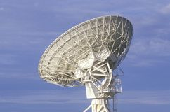 Radio telescope dishes at National Radio Astronomy Observatory in Socorro, NM Royalty Free Stock Photo