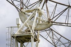Radio telescope DKR-1000 in Russia Royalty Free Stock Photography