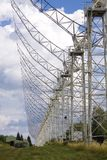 Radio telescope DKR-1000 in Russia Stock Image