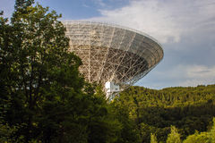 Radio Telescope Effelsberg Royalty Free Stock Photos