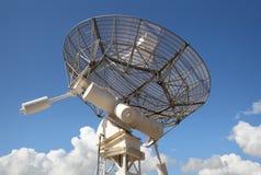 Radio Telescope Facing Skyward Royalty Free Stock Photos