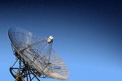 Radio telescope observatory Royalty Free Stock Photo
