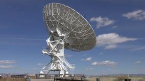 Radio telescope time lapse