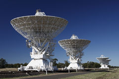 Radio Telescopes Royalty Free Stock Images