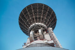 Radio telescopes in Russia Stock Photo