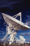 Radio Telescopes. In Socorro, New Mexico Stock Photo
