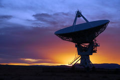 radio teleskop Royaltyfri Fotografi