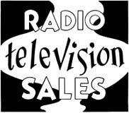 Radio Television Sales Royalty Free Stock Photography