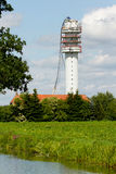 Radio Television Tower collapsed. (Holland Stock Photography