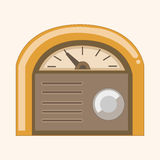Radio theme elements vector,eps Royalty Free Stock Photos