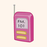 Radio theme elements vector,eps. Vector illustration file Royalty Free Stock Photography