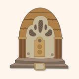 Radio theme elements vector,eps Stock Image