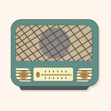 Radio theme elements vector,eps Stock Image