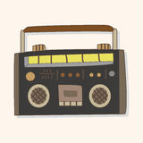 Radio theme elements vector,eps Stock Photography