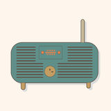 Radio theme elements vector,eps Royalty Free Stock Photo