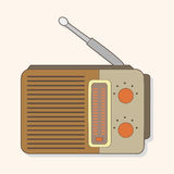 Radio theme elements vector,eps Royalty Free Stock Photography