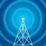 Radio torenvorm stock illustratie