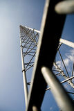 Radio Tower. Near Kootwijk, the Netherlands royalty free stock photos