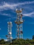 Radio tower Royalty Free Stock Image
