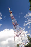 Radio tower Royalty Free Stock Photo
